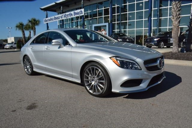 New 2016 mercedes benz cls cls550 coupe in myrtle beach for Mercedes benz of palm beach staff